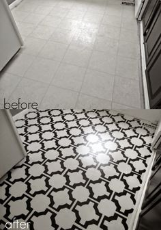 Ditch The Colorful Sstyle Tubs Sinks And Tile By Painting - 1960s floor tiles