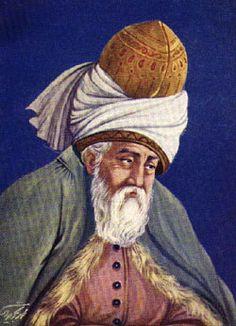 A Celebration of Rumi- Born in Balkh, Afganistan Sept. 30, 1207-  Persian language poet.