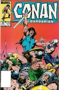 1985 - Anatomy of a Cover - Conan the Barbarian #171 by John Buscema