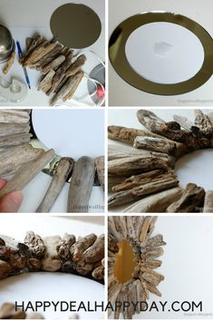 Declutter And Style And Design For Put Up-Spring Crack Homeschool Good Results Driftwood Crafts Diy Drift Wood Mirrors Thrift Store Crafts, Thrift Stores, Driftwood Crafts, Driftwood Mirror, Driftwood Ideas, Farmhouse Decor, Red Farmhouse, Modern Farmhouse, Farmhouse Design