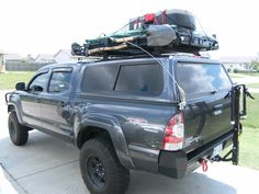 offroad toyota tundra camper   05 Tacoma 4X4 Sport 2005 Double Cab Automatic 4L