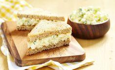 Wafu® Egg Salad Sandwich on Whole Wheat A traditional egg salad sandwich with a sesame mayo twist.