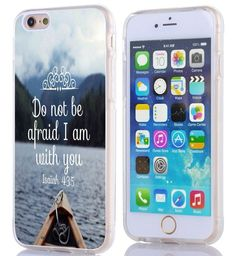 Case for Iphone 6, Iphone 6S Case Bible Verses Christian Quotes 4.7 Inches Isaiah 43:5