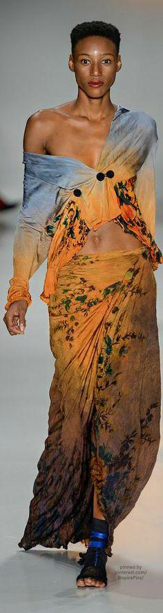 ❤️ Lino Villaventura SS2015 RTW #PurelyInspiration #print #fashion