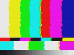 TV SMPTE color bars background texture that you can use for free. This is a glitch TV bad signal texture made from scratch in Photoshop using Glitch Wallpaper, Glitch Tv, Glitch Photo, Aesthetic Images, Aesthetic Backgrounds, Tv Texture, Tv Static, Youtube Banner Template, Tv Head