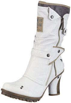 Mustang Damen Halbschaft Stiefel: Amazon.de: Schuhe & Handtaschen