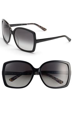 0fc7a64552 kate spade new york  darryl  oversized sunglasses available at  Nordstrom Kate  Spade Sunglasses
