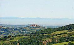 Stunning scenery near Radicondoli and Siena in Tuscany, Italy