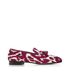 TOM FORD-Chesterfield Viscose and Cotton Spotted Tassel Jacquard Evening Slipper