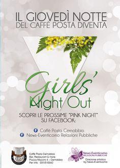 GIRLS' NIGHT OUT Festa della Donna Caffè Posta Cernobbio