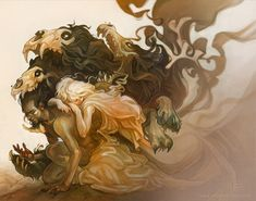Tam Lin by Wylie Beckert, via Behance #illustration #drawing #fantasy