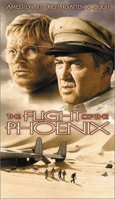 The Flight of the Phoenix (1965) original directed by Robert Aldrich with James Stewart and Hardy Kruger was remade in 2004