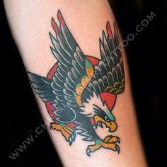 b60734e2c59e5 Download Free Chris Lambert Tattoo Did this small #eagle #tattoo on  Mattheaw today .