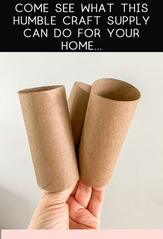Toilet Paper Roll Crafts, Washi Tape Crafts, Diy Paper, Arts And Crafts, Home Crafts, Fun Crafts, Adult Crafts, Easy Crafts For Kids, Diy Crafts