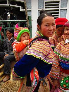 Hmong flor. Vietnam