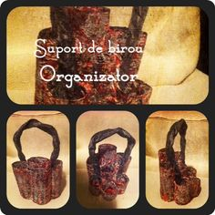 HM Creations: Suport de birou / Organizator