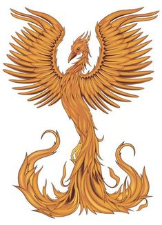 pinterest phoenix tattoos | Pin Phonix Bird Rising Phoenix Tattoo on Pinterest