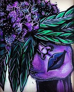 The latest news and ideas that are worth sharing. Cannabis, Marijuana Art, Trippy Painting, Painting & Drawing, Cute Canvas Paintings, Canvas Art, Art Sketches, Art Drawings, Weed Art