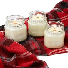 Enjoy the ambience of comforting, complex scents and a crackling flame with these cozy candles.