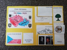 Produkt - Lapbook Česká republika Czech Republic, Books, Owl, Libros, Book, Owls, Book Illustrations, Bohemia, Libri