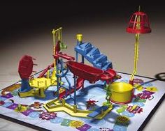 Mousetrap game...we never really played the game, we would just set the traps over and over again...lol