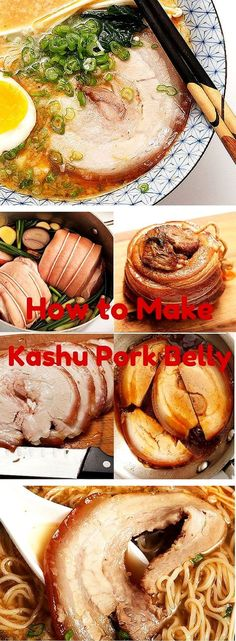 The Food Lab, Ramen Edition: How to Make Chashu Pork Belly - Asian recipes - Sopa Ramen, Ramen Soup, Ramen Bar, Ramen Broth, Pork Recipes, Asian Recipes, Cooking Recipes, Ethnic Recipes, Hawaiian Recipes