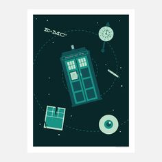 Who 18x24, now featured on Fab.