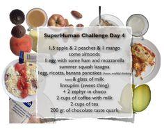 1,5 яблока, 2 персика, 1 манго, миндалины, яйцо с ветчиной, моцарелой и помидорами, лазанья из кабачка, птичье молоко, 2 кружки кофе, 2 кружки чая, вода и сок разбавленный водой, 2 кусочка зефира в шоколаде, запеканка из творога (неудавшиеся блинчики), 200 гр творожно-шоколадной массы, молоко
