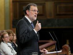 """Mariano Rajoy se presenta como la garantía del """"fin de la incertidumbre"""" ante su investidura"""