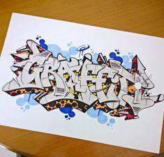 Graffiti Text, Graffiti Piece, Graffiti Writing, Graffiti Alphabet, Graffiti Lettering, Graffiti Wildstyle, Tattoo Lettering Styles, Basic Drawing, 3d Letters