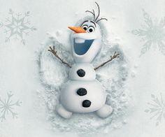 Olaf im Schnee