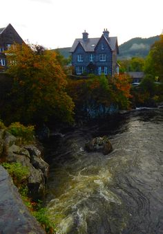 Betws-y-Coed, Conwy,  Snowdonia, Wales, UK