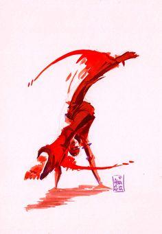 Encre #Capoeira 04