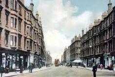 Maryhill, Glasgow, Scotland,where my dad was born.