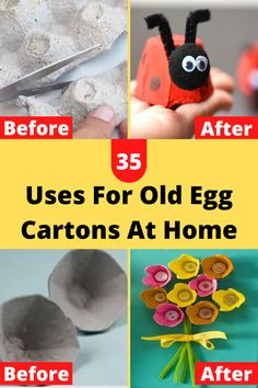 Repurpose, Reuse, Egg Cartons, Recycled Crafts, 5th Grades, Just Amazing, Nifty, Dyi, Christmas Crafts