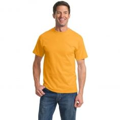 Port & Company PC61 Essential T-Shirt - Gold | FullSource.com