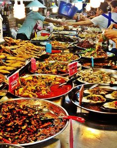 Incredible Food Markets From Around The World: Or Tor Kor Market, Bangkok, Thailand