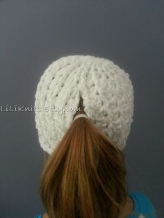 Free Crochet Pattern Ponytail Hat : 1000+ images about Crochet ponytail hat on Pinterest ...