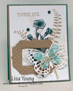 Butterfly Basics Framed   Add Ink and Stamp   Bloglovin'