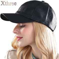 [Xthree] fashion Baseball Cap women fall faux Leather cap hip hop snapback Hats For men winter hat for women //Price: $10.99 & FREE Shipping //     #hashtag1