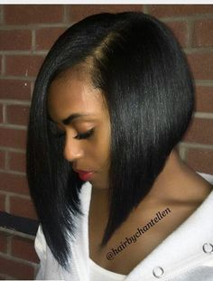African American Bob Hairstyles Beautiful Cut  Hairlong Or Short  Pinterest  Bobs Hair Style