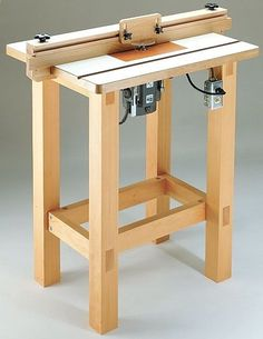 Router Table Plan – Build Your Own Router Table | DIY for Home Router Table Plan…: