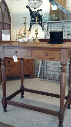 SOLD - beautiful old clerks desk