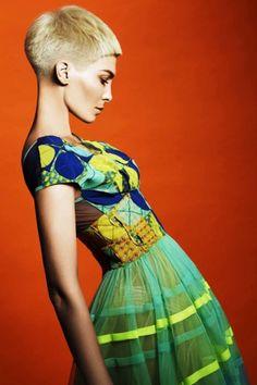 Hair/Coiffure: Candice Wyatt-Minter, Wyatt Hairdressing, Johannesburg Makeup/Maquillage: Krassi Toma Wardrobe/Stylisme: Black Coffee Photos: John Rawson {igallery id=2889|cid=2422|pid=1|type=category|children=0|addlinks=0|tags=|limit=0} Featuring plenty of colourful fashions inspired by trad...