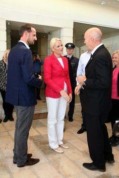 Prince Haakon and Princess Mette Marit had their last day in Jordan