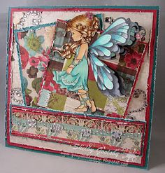 My Favorite Card Image is a digi by Wee Stamps called Silver Fairy.