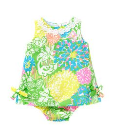 Lilly Pulitzer Baby Lilly Shift Dress - Hibiscus Stroll