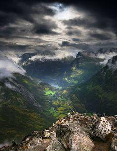 Valle en Noruega