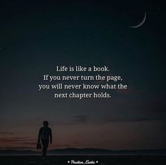 Life is like a book..