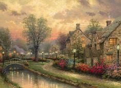 Lamplight Lane | The Thomas Kinkade Company